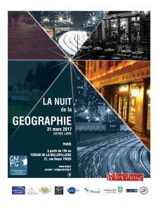 2017 Nuit de la Géographie